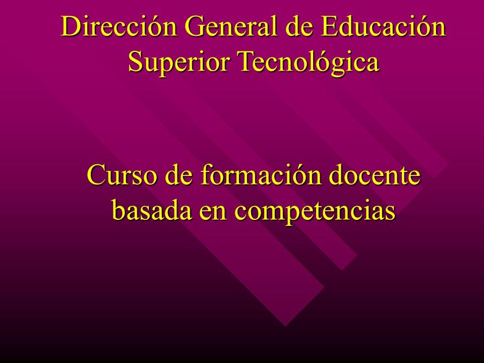 Curso de formación docente basada en competencias