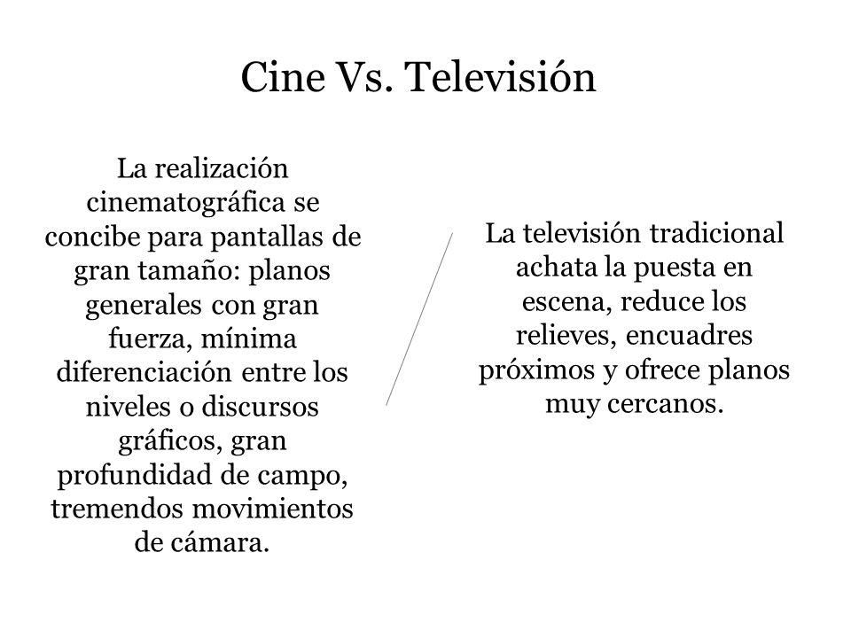 Cine Vs. Televisión