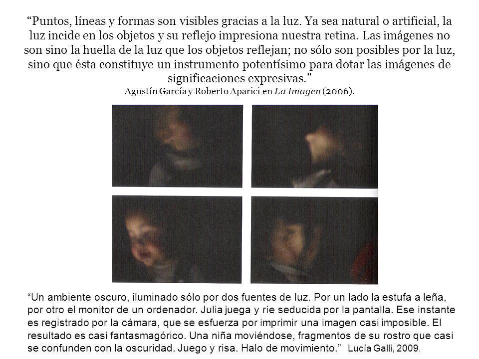 Agustín García y Roberto Aparici en La Imagen (2006).