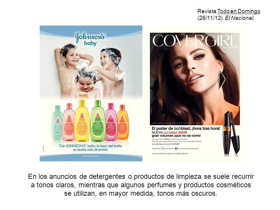 Revista Todo en Domingo (26/11/12). El Nacional.