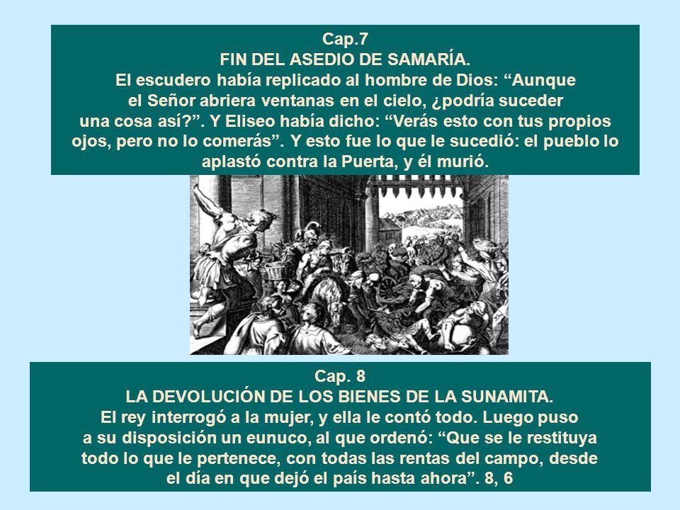 FIN DEL ASEDIO DE SAMARÍA.