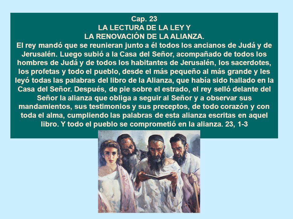 Cap. 23 LA LECTURA DE LA LEY Y.
