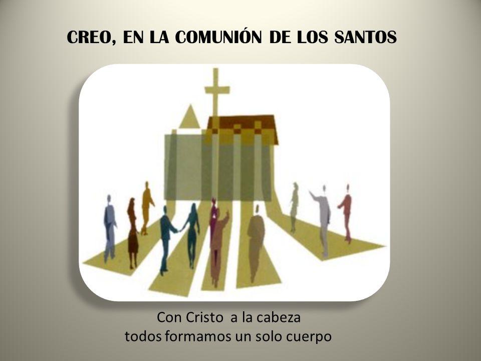 CREO, EN LA COMUNIÓN DE LOS SANTOS
