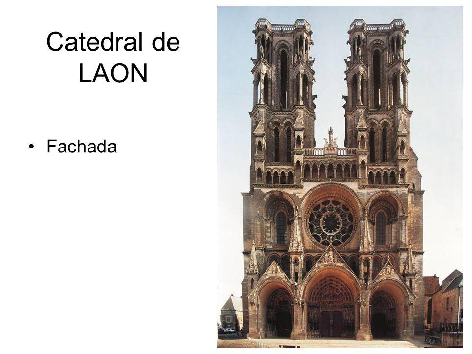 Catedral de LAON Fachada