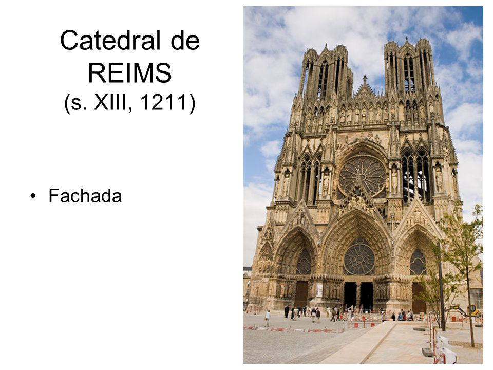 Catedral de REIMS (s. XIII, 1211)