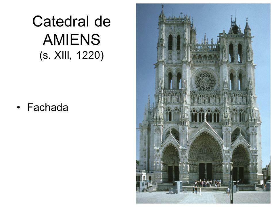 Catedral de AMIENS (s. XIII, 1220)