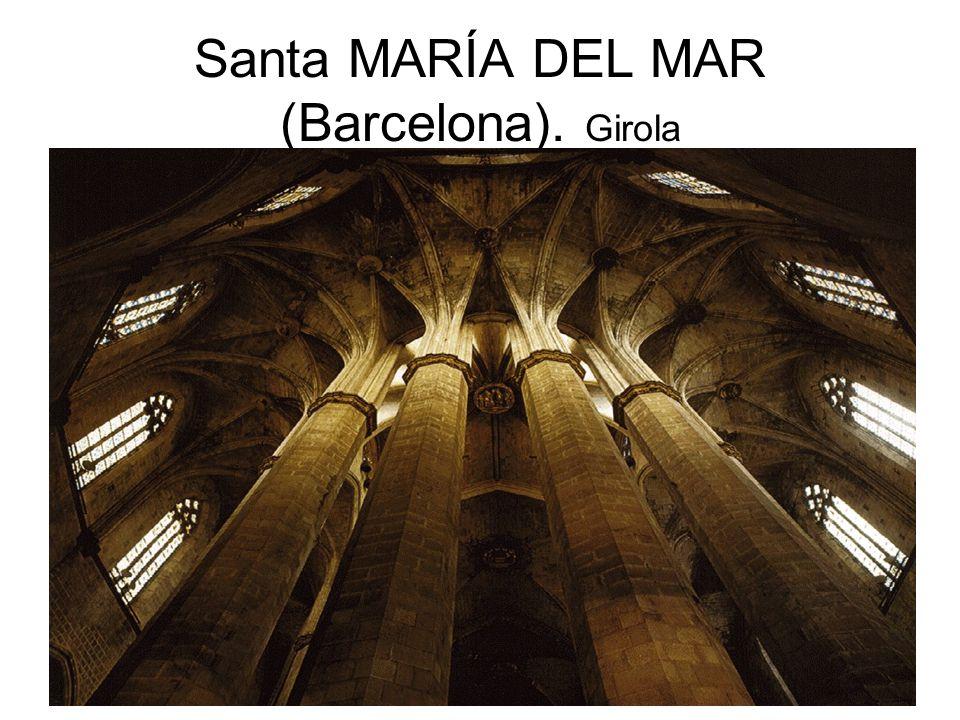 Santa MARÍA DEL MAR (Barcelona). Girola