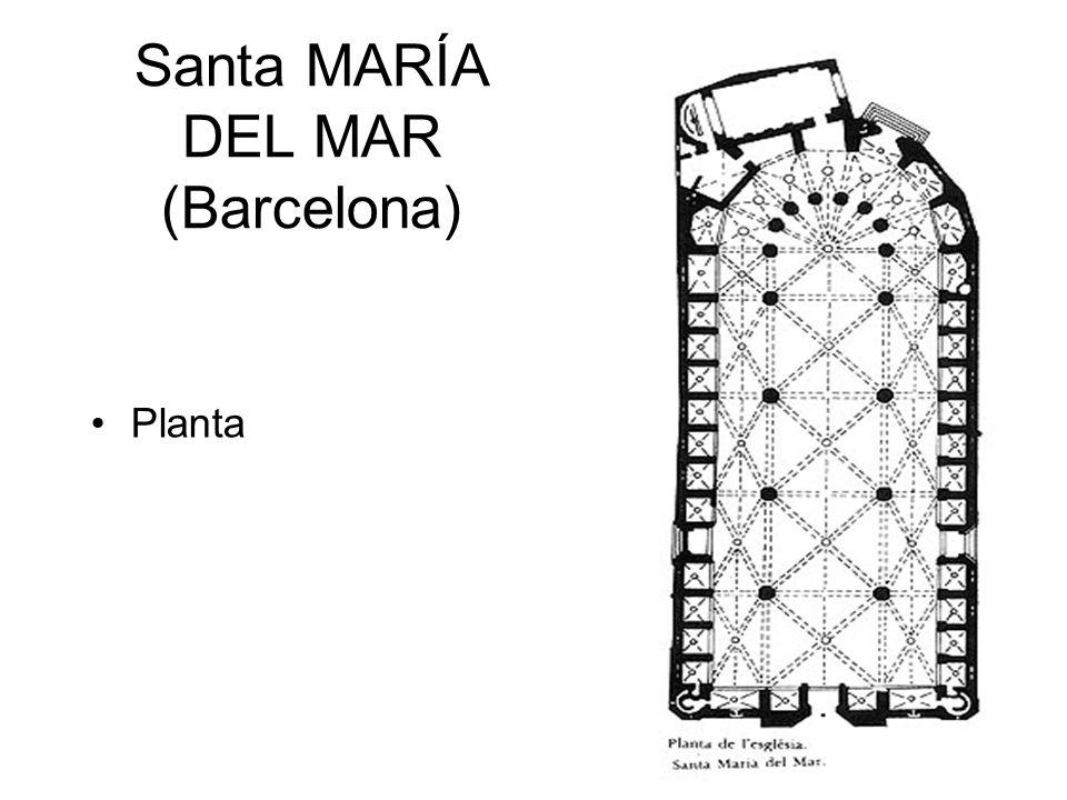 Santa MARÍA DEL MAR (Barcelona)