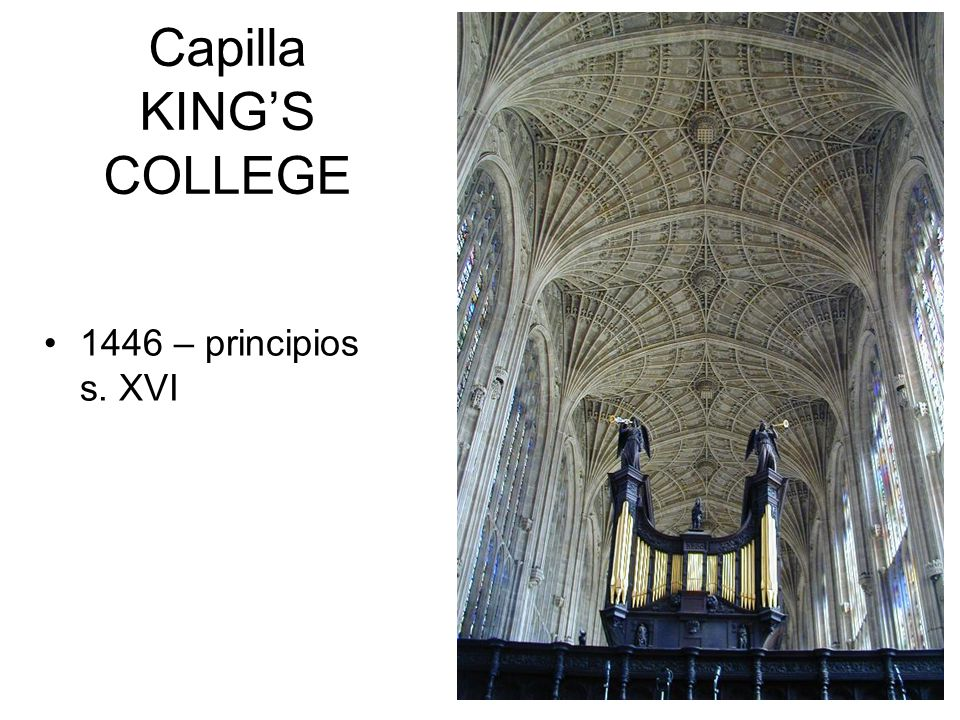 Capilla KING'S COLLEGE