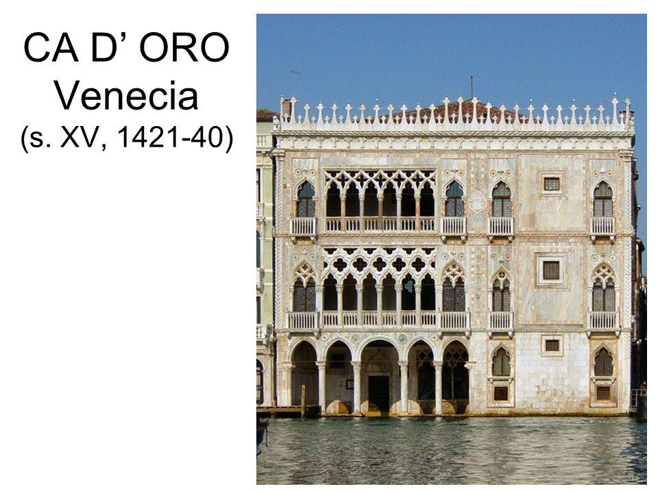 CA D' ORO Venecia (s. XV, 1421-40)