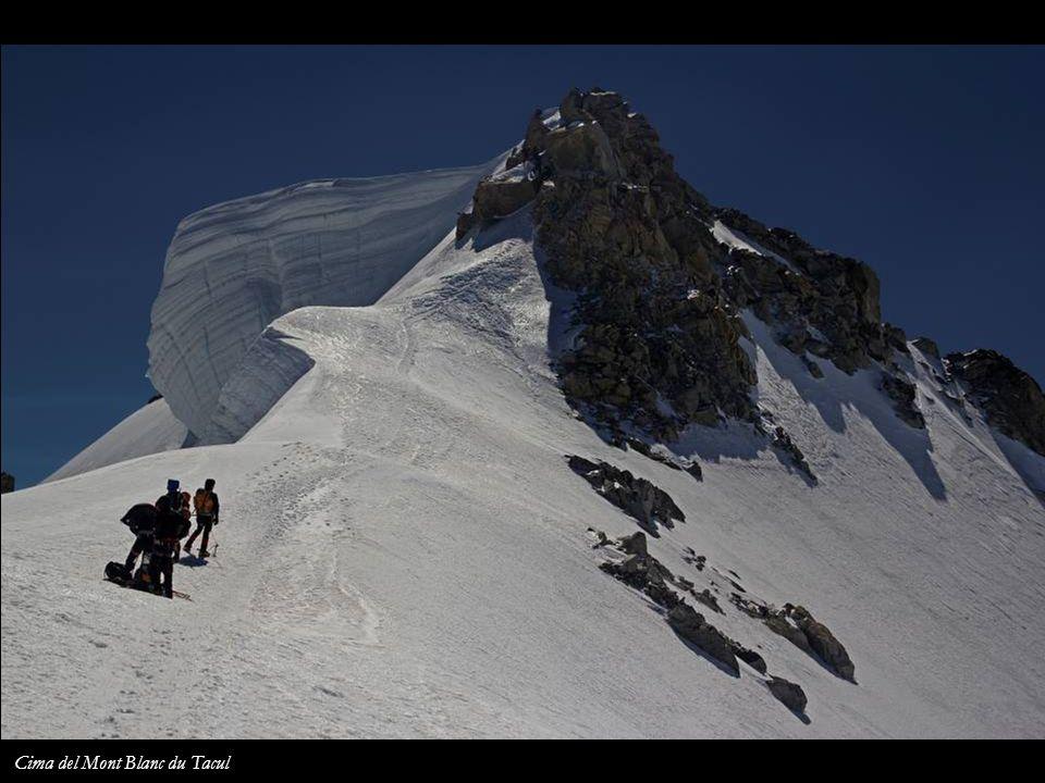 Cima del Mont Blanc du Tacul