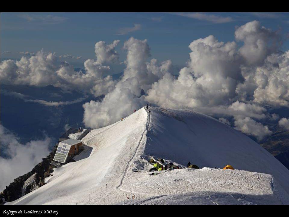 Refugio de Goûter (3.800 m)