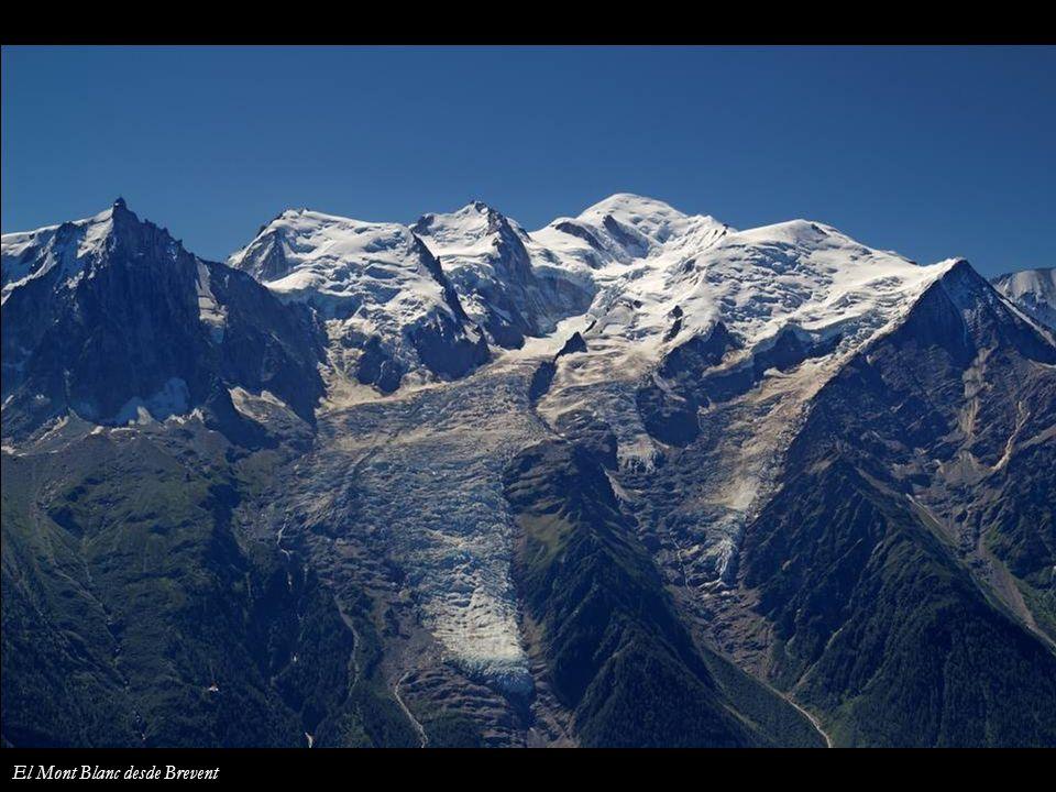 El Mont Blanc desde Brevent