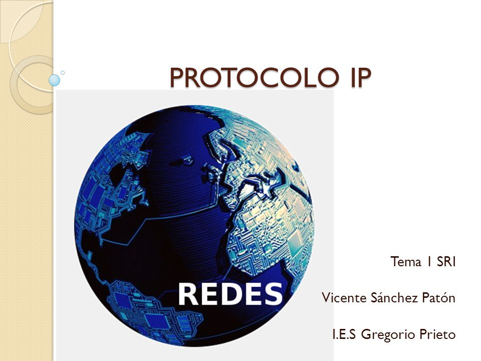 Tema 1 SRI Vicente Sánchez Patón I.E.S Gregorio Prieto