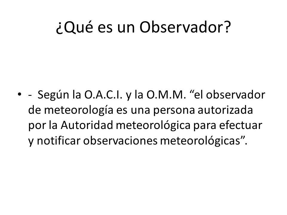 ¿Qué es un Observador