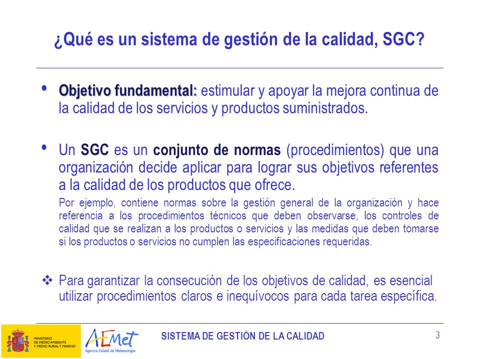 ¿Qué es un sistema de gestión de la calidad, SGC