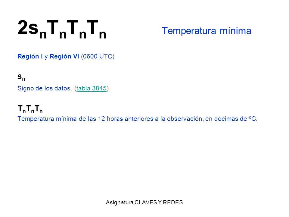 2snTnTnTn Temperatura mínima