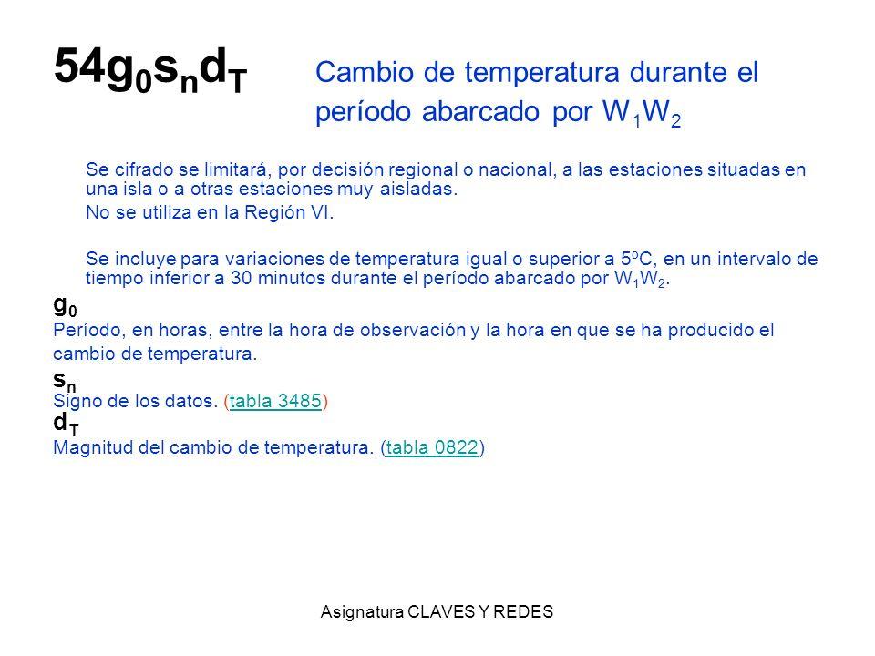 54g0sndT Cambio de temperatura durante el período abarcado por W1W2