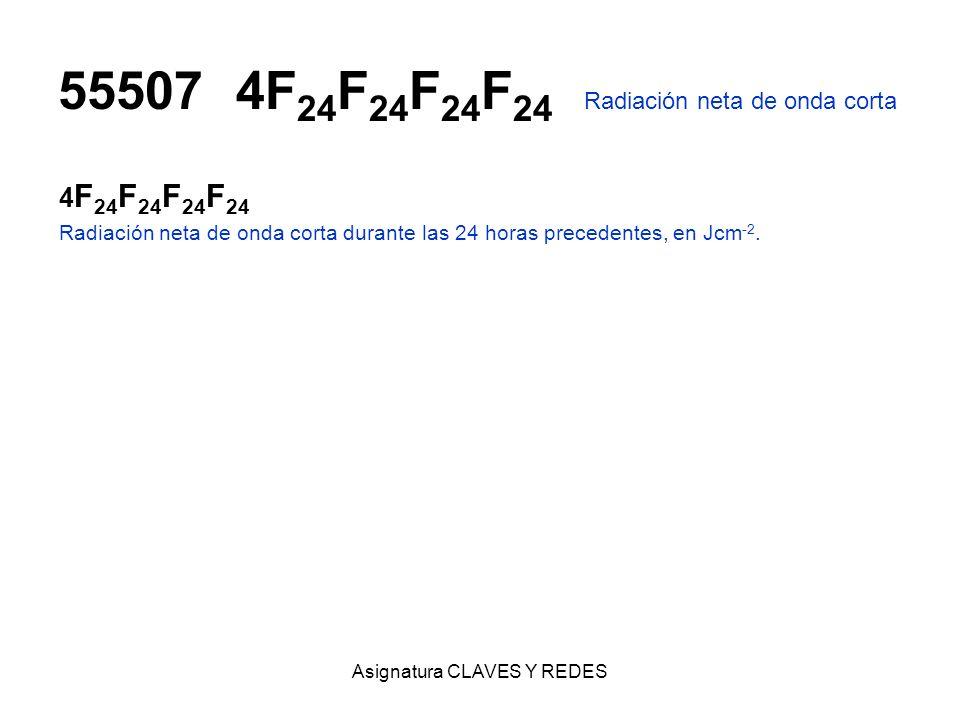 55507 4F24F24F24F24 Radiación neta de onda corta