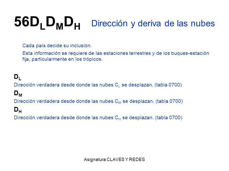 56DLDMDH Dirección y deriva de las nubes