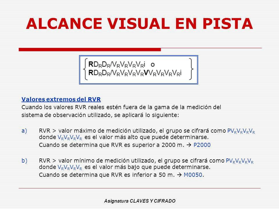 ALCANCE VISUAL EN PISTA