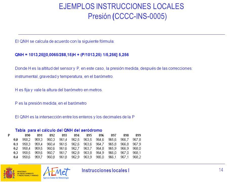 EJEMPLOS INSTRUCCIONES LOCALES Presión (CCCC-INS-0005)