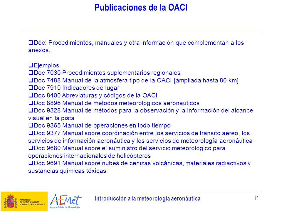 Publicaciones de la OACI