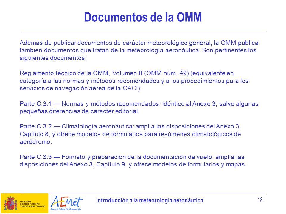Documentos de la OMM