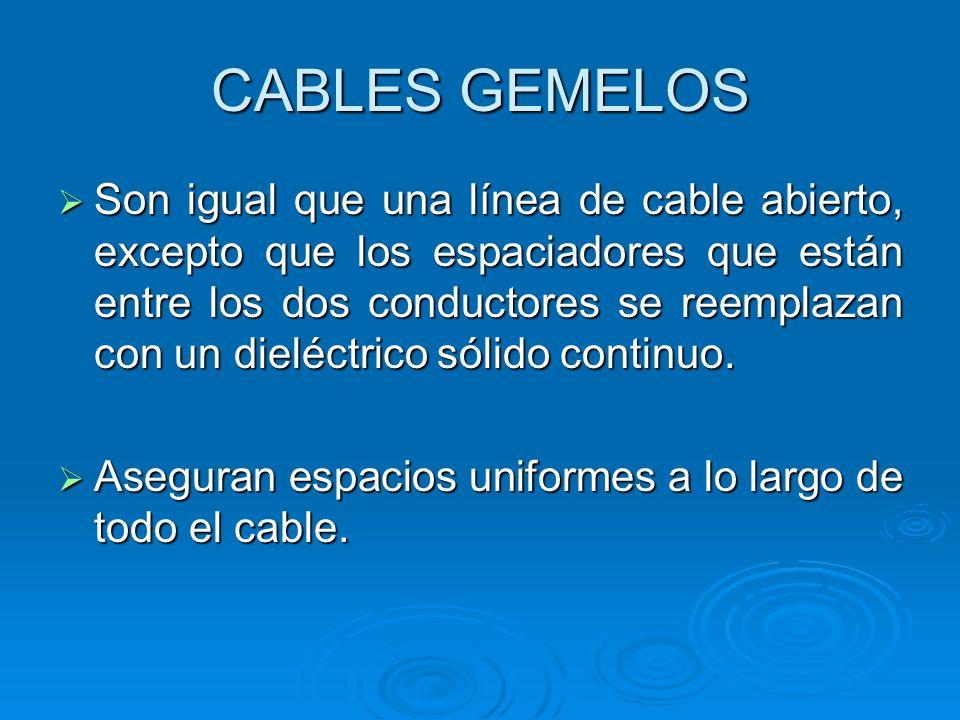 CABLES GEMELOS