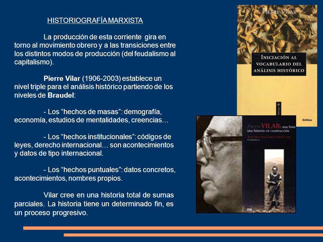 HISTORIOGRAFÍA MARXISTA