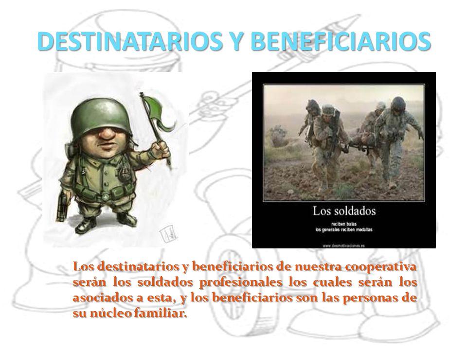 DESTINATARIOS Y BENEFICIARIOS
