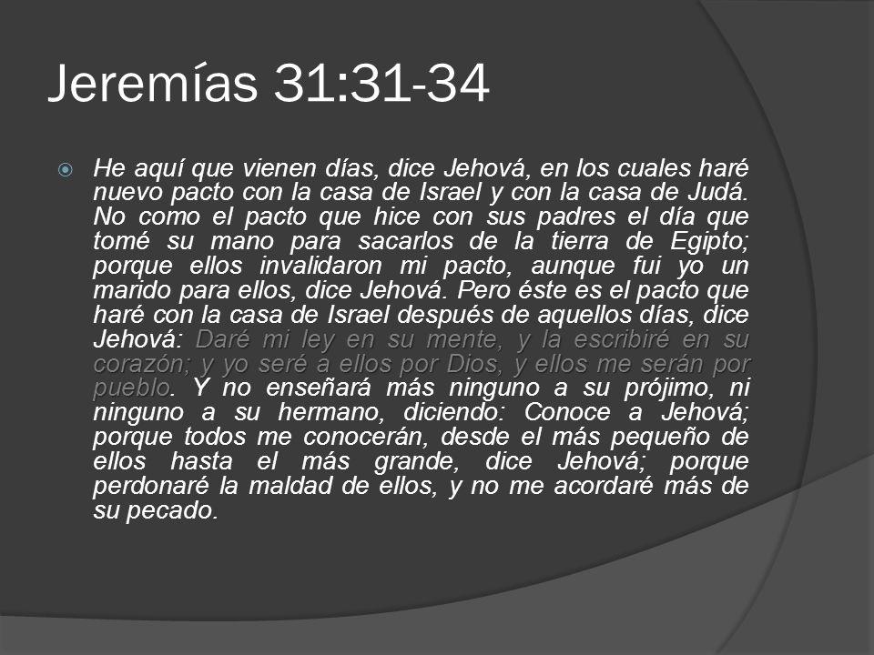 Jeremías 31:31-34