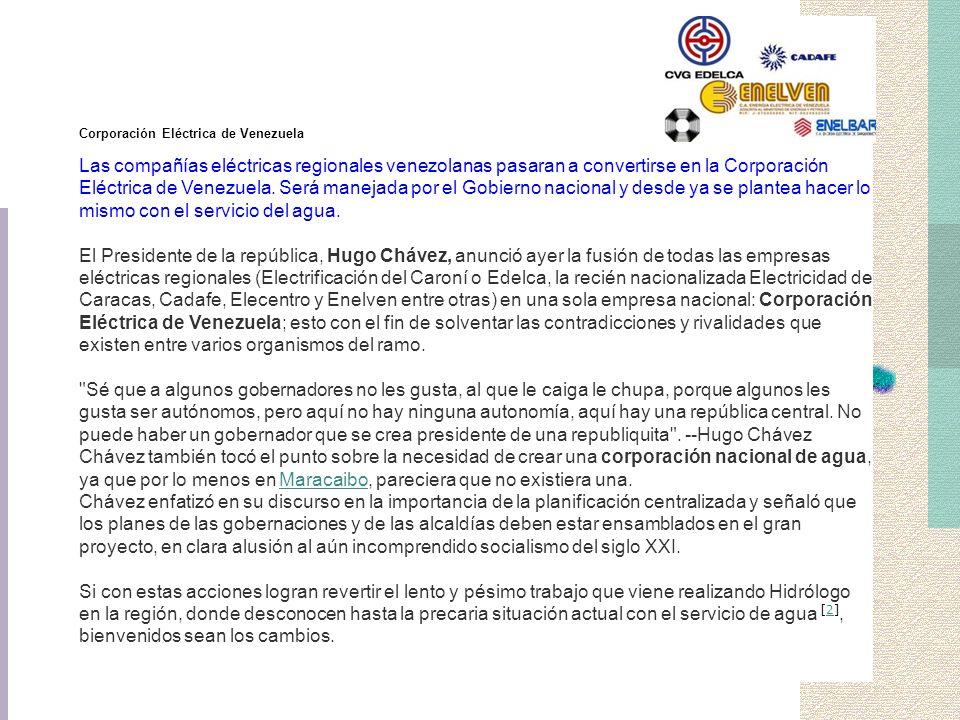 Corporación Eléctrica de Venezuela