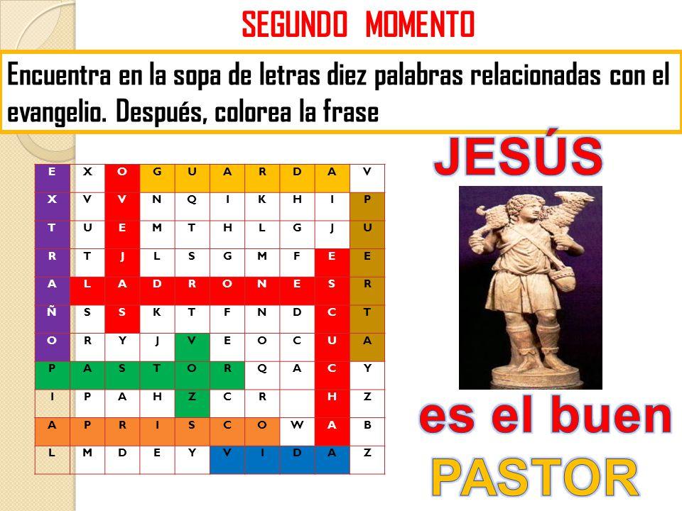 JESÚS es el buen PASTOR SEGUNDO MOMENTO