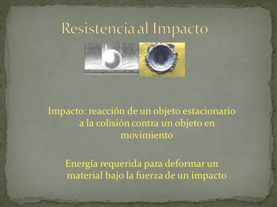 Resistencia al Impacto