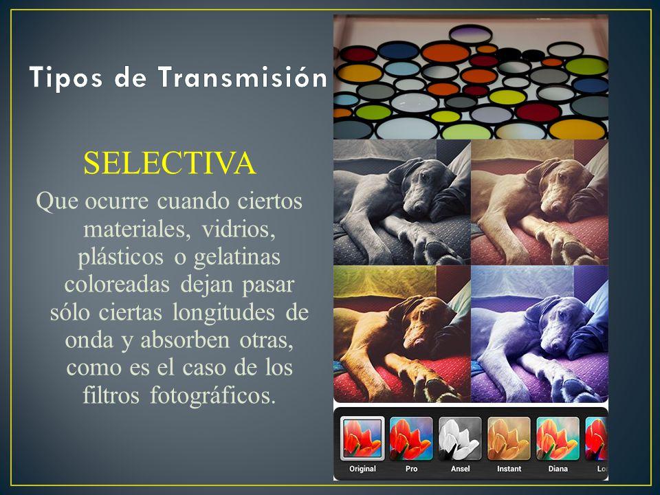 Tipos de Transmisión SELECTIVA