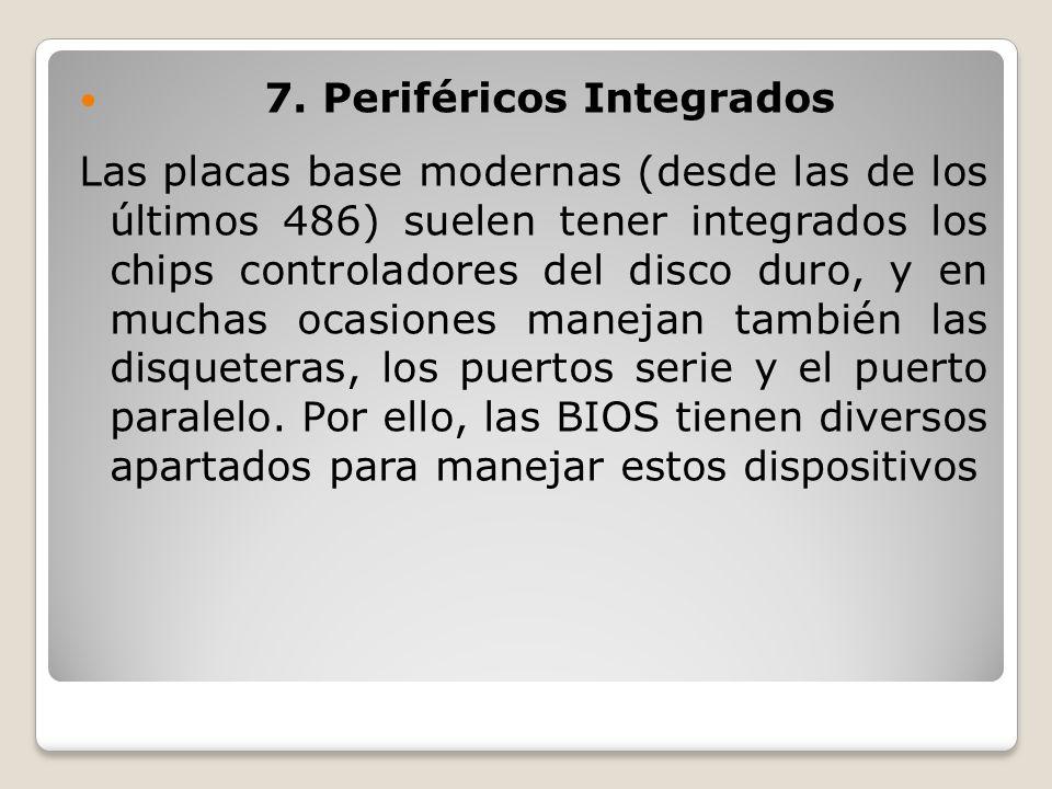 7. Periféricos Integrados