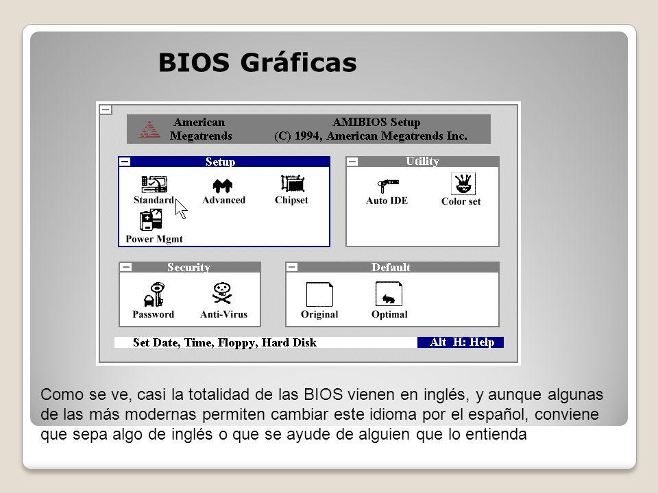 BIOS Gráficas