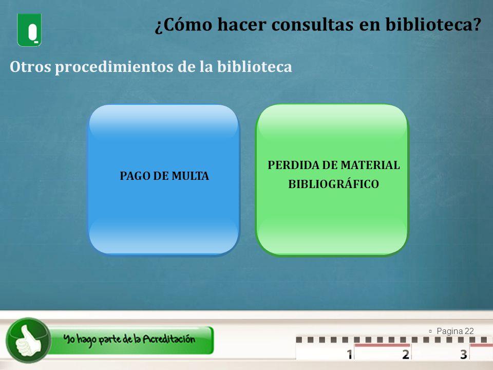 ¿Cómo hacer consultas en biblioteca
