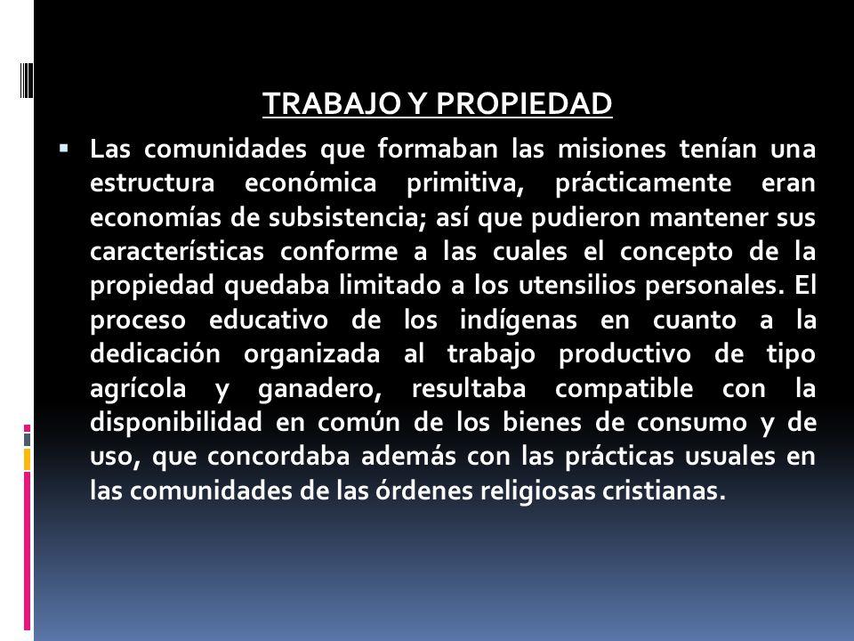 TRABAJO Y PROPIEDAD