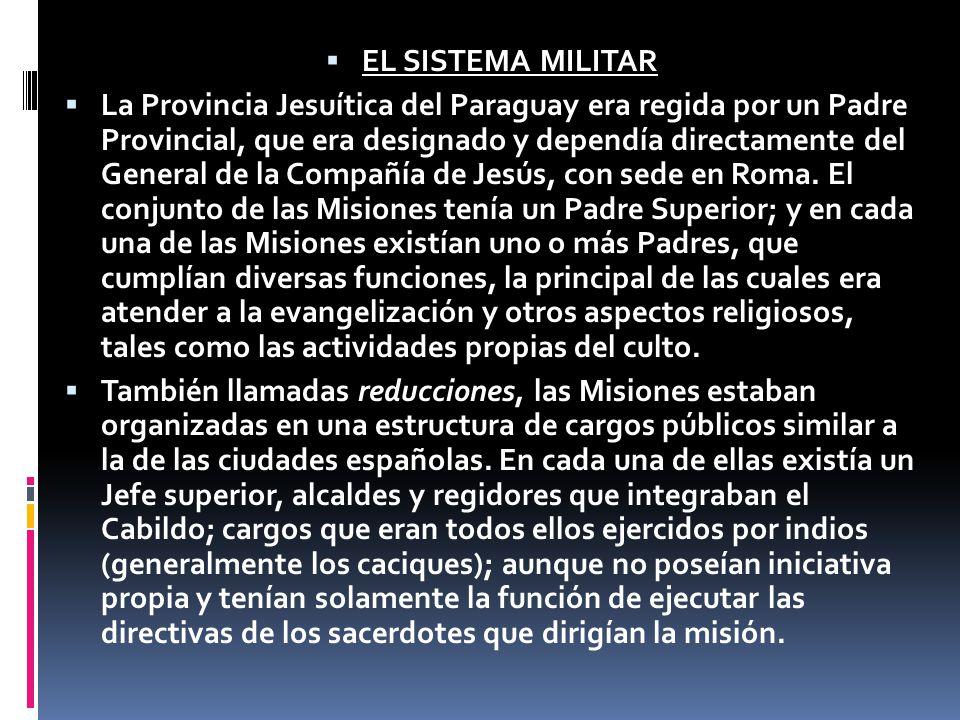 EL SISTEMA MILITAR