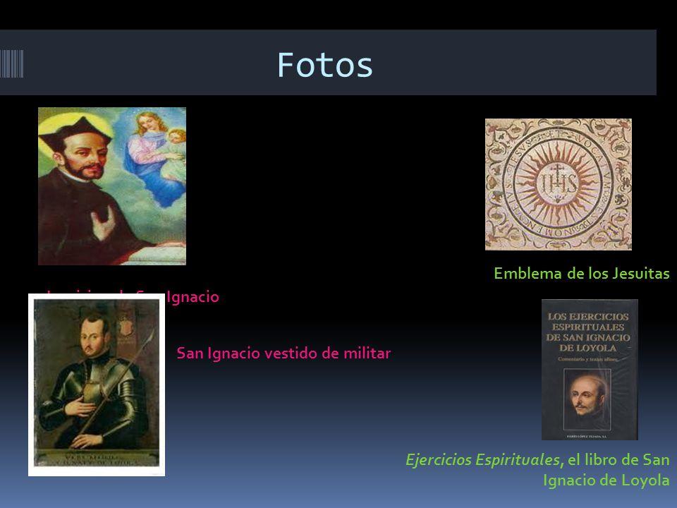 Fotos Emblema de los Jesuitas La vision de San Ignacio
