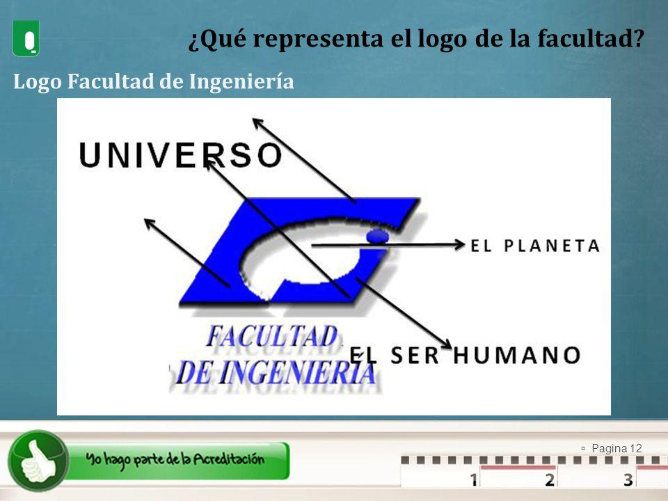 ¿Qué representa el logo de la facultad
