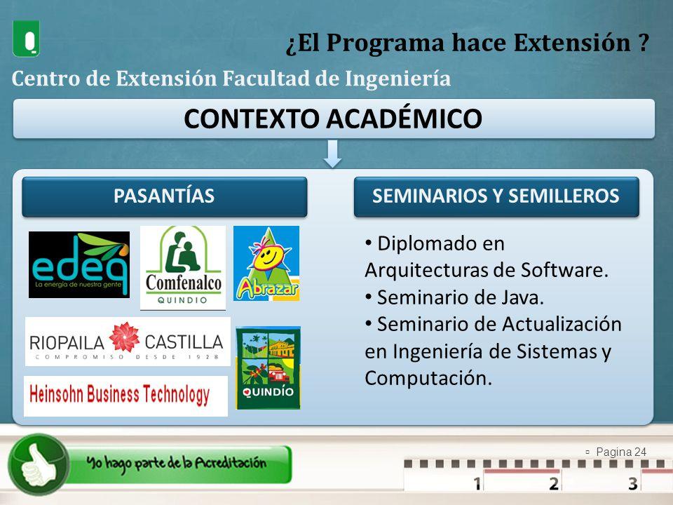 ¿El Programa hace Extensión