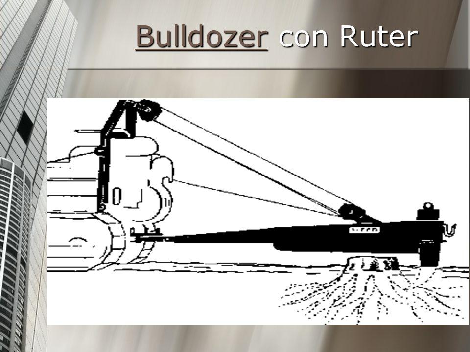 Bulldozer con Ruter