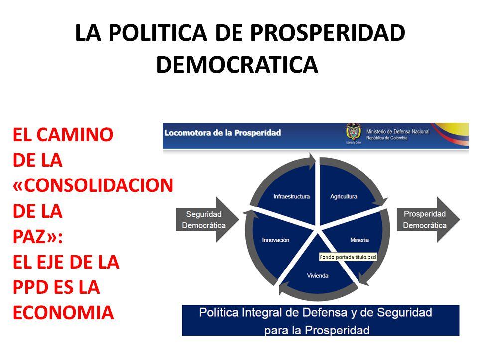 LA POLITICA DE PROSPERIDAD DEMOCRATICA