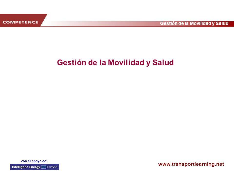 Gestión de la Movilidad y Salud