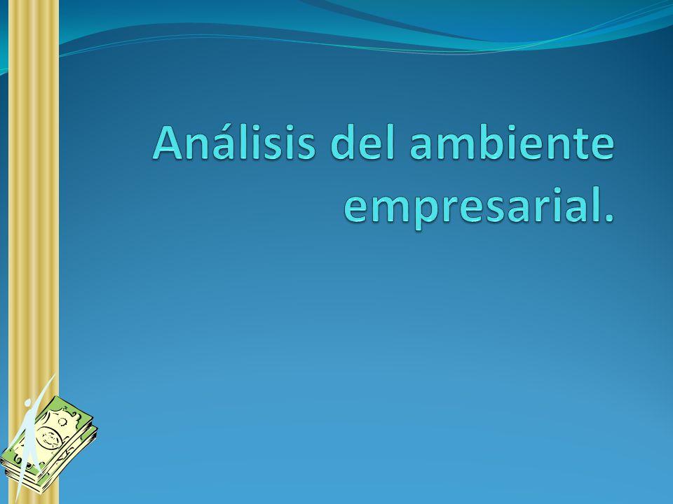 Análisis del ambiente empresarial.