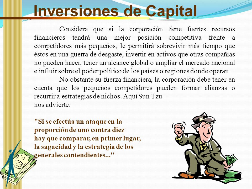 Inversiones de Capital