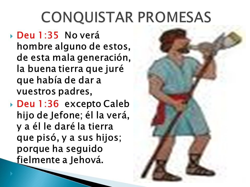 CONQUISTAR PROMESAS